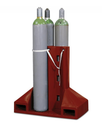 Polyethylene Gas cylinder pallet for four cylinders